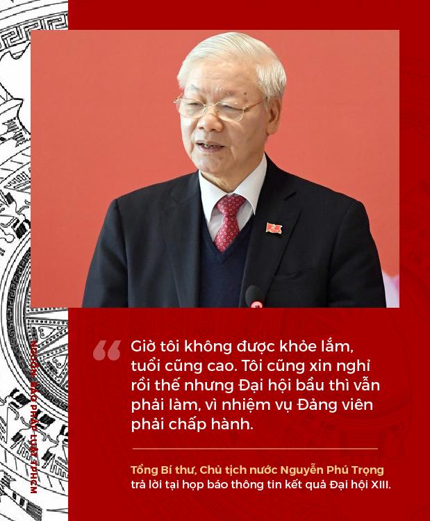 Phát ngôn ấn tượng của Tổng Bí thư, Chủ tịch nước Nguyễn Phú Trọng sau khi tái đắc cử - Ảnh 1.