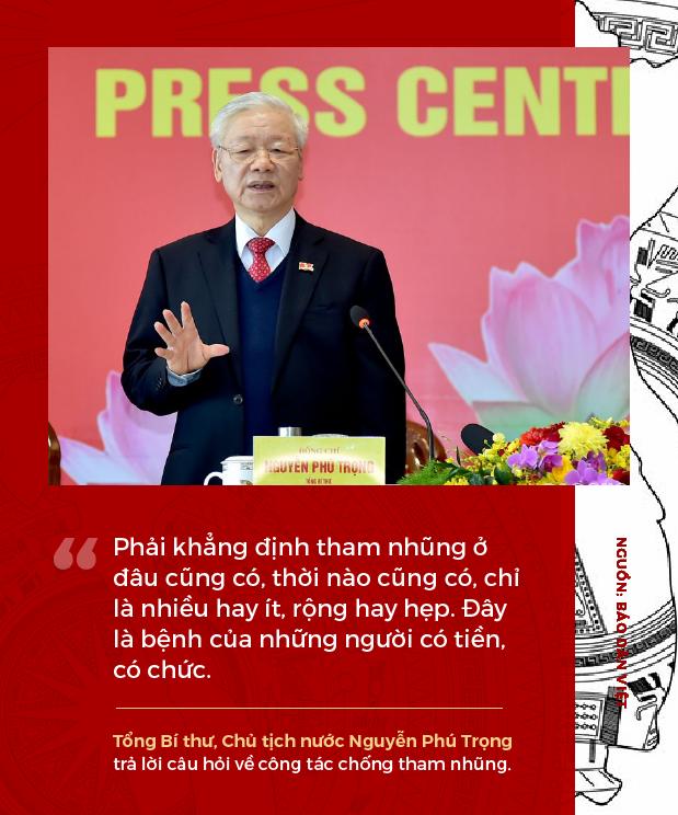 Phát ngôn ấn tượng của Tổng Bí thư, Chủ tịch nước Nguyễn Phú Trọng sau khi tái đắc cử - Ảnh 4.