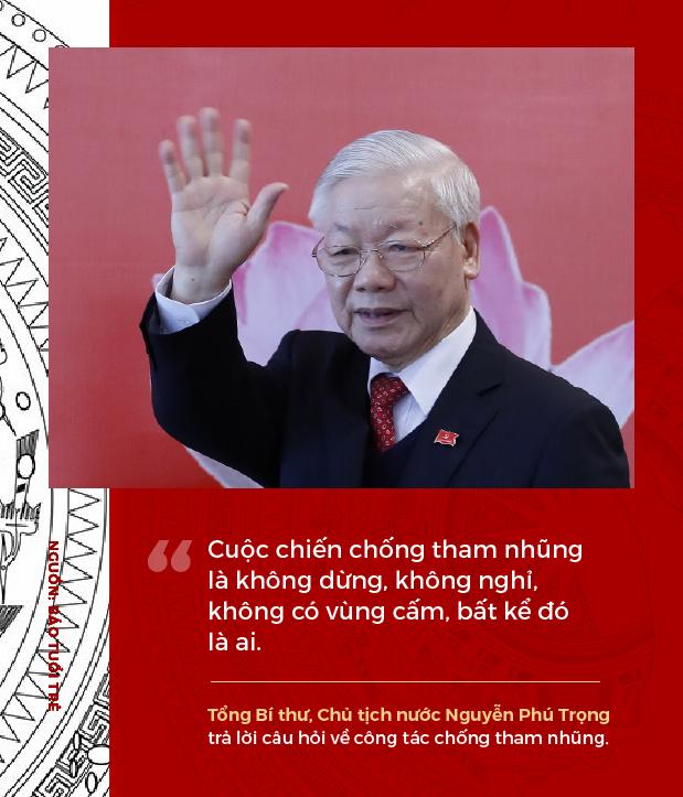 Phát ngôn ấn tượng của Tổng Bí thư, Chủ tịch nước Nguyễn Phú Trọng sau khi tái đắc cử - Ảnh 5.