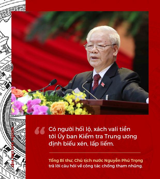 Phát ngôn ấn tượng của Tổng Bí thư, Chủ tịch nước Nguyễn Phú Trọng sau khi tái đắc cử - Ảnh 7.