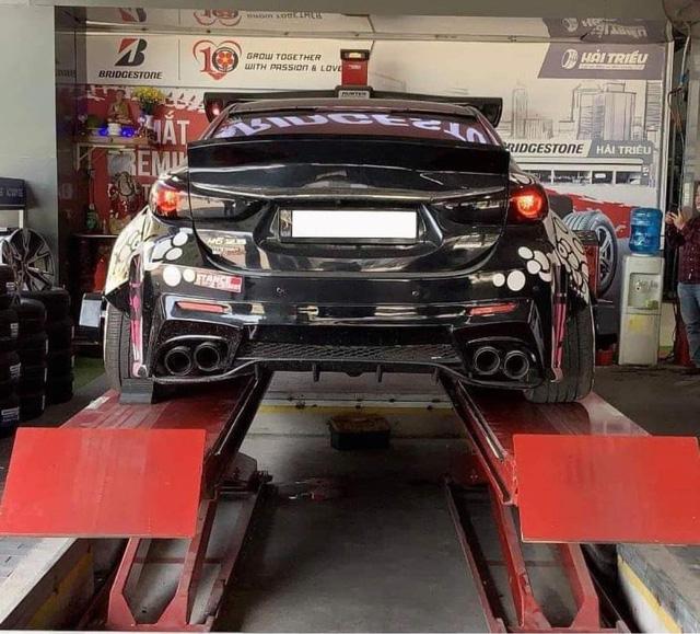 Bán Mazda6 độc nhất Việt Nam, dân chơi tiết lộ: 'Riêng tiền độ đủ mua Kia Morning' - Ảnh 4.