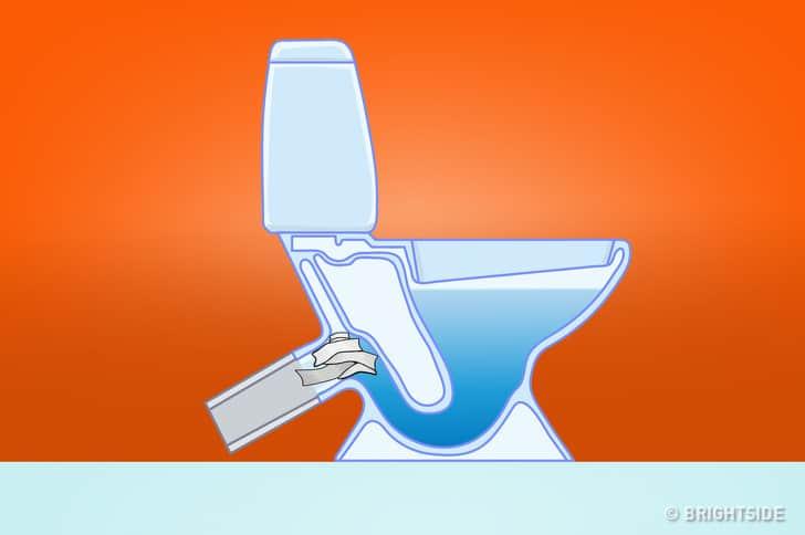8 thứ bạn không nên vứt vào bồn cầu: Bạn cho rằng xả nước là xong ư, không đâu! - Ảnh 2.