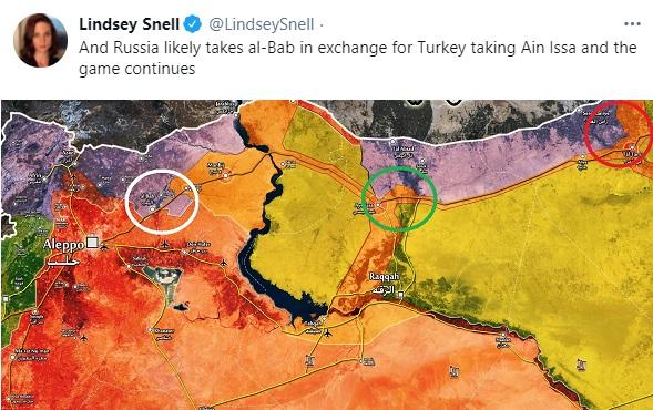 Đột ngột rút khỏi 2 cứ điểm ở đông bắc Syria, Nga tính đổi chác gì với người Thổ? - Ảnh 3.