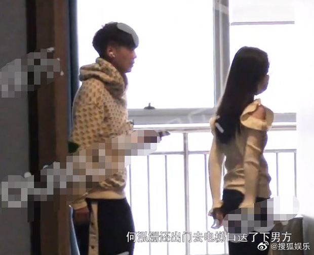 Tiểu Triệu Lệ Dĩnh bị tung ảnh hẹn hò ngay đầu năm mới: Nắm tay nhau vào khách sạn, nam chính gây bão vì quá đẹp trai - Ảnh 3.