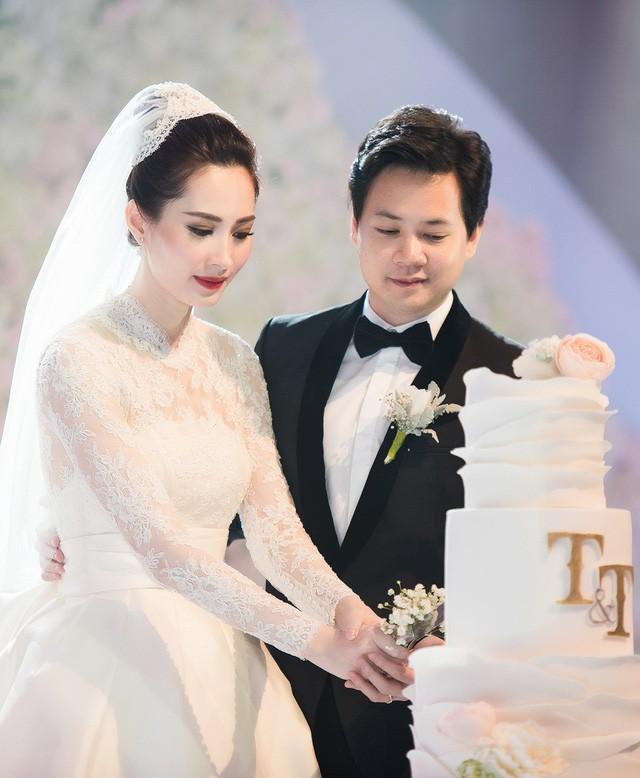 Top 3 HHVN 2012: Hoa hậu Đặng Thu Thảo và 2 á hậu đều có hôn nhân viên mãn - Ảnh 4.