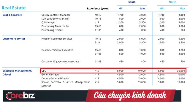 Hé lộ 3 ngành đang hot ở Việt Nam: CEO nhận lương tới 40.000 USD/tháng ~ 1 tỷ đồng, chưa gồm thưởng và các khoản khác - Ảnh 3.