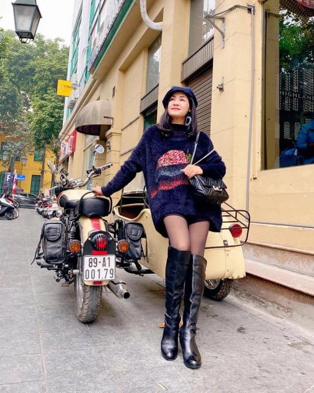 Visual bất ngờ của NSND Thu Hà (Hướng Dương Ngược Nắng): Ăn mặc xì teen khác hẳn trên phim, ảnh quá khứ diễm lệ gây sốt - Ảnh 10.