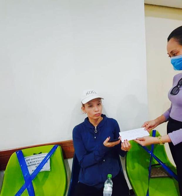 Sao Vbiz chung tay giúp đỡ NS Thương Tín: NS Trịnh Kim Chi kêu gọi hơn 76 triệu, Hạnh Thuý chi trả 10 triệu viện phí - Ảnh 3.