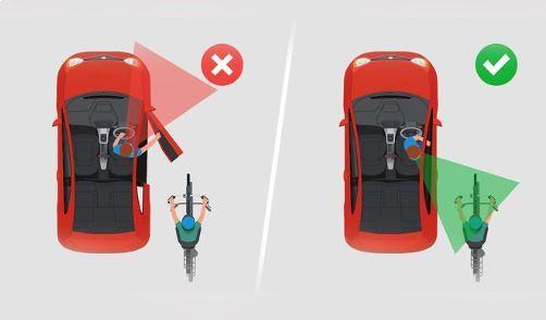 Những nguyên tắc an toàn khi mở cửa xe không phải ai cũng biết - Ảnh 4.
