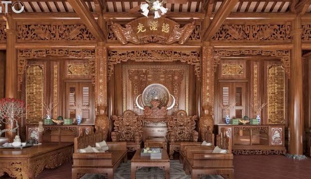 Lạc lối trong cung điện của đại gia Thành Thắng Group: Cao bằng toà nhà 18 tầng, diện tích sàn 15.000m2, 20 phòng ngủ, dát vàng khắp nơi  - Ảnh 15.
