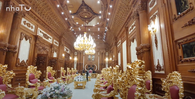 Lạc lối trong cung điện của đại gia Thành Thắng Group: Cao bằng toà nhà 18 tầng, diện tích sàn 15.000m2, 20 phòng ngủ, dát vàng khắp nơi  - Ảnh 10.