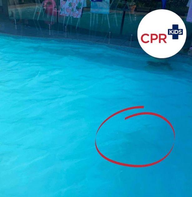 Bức ảnh hồ bơi xanh ngọc tuyệt đẹp song ẩn chứa 1 điều đáng sợ, phụ huynh nào cũng nên lưu ý - Ảnh 3.