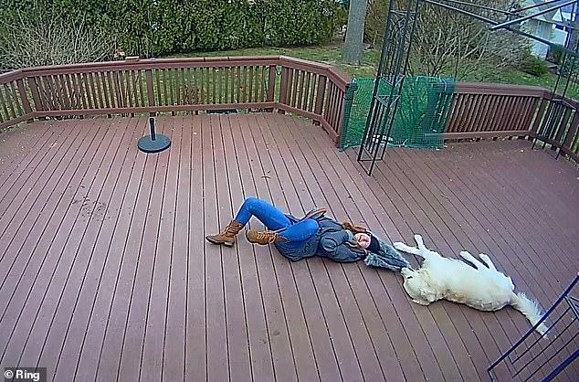 Chú chó giằng co áo kéo lê làm ngạt thở cô gái, ngỡ tai nạn đẫm máu kinh hoàng nhưng sự thật không như mọi người nghĩ - Ảnh 6.