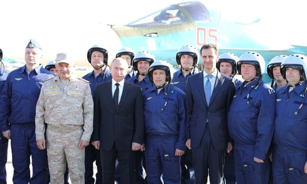Một loạt tướng cấp cao Nga bí mật tới Syria: Ông Putin đang toán tính điều gì? - Ảnh 2.