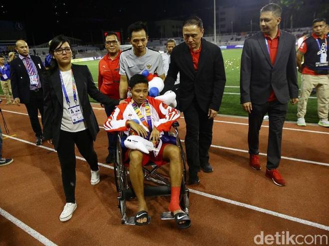 Ngôi sao từng sớm rời sân vì Văn Hậu sẵn sàng đối đầu U22 Việt Nam ở SEA Games - Ảnh 1.