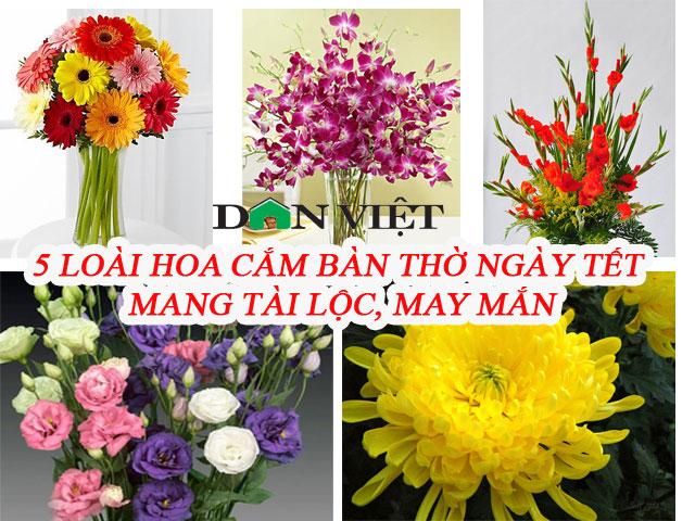 5 loại hoa cắm bàn thờ dịp Tết hút tài lộc, may mắn trong năm mới - Ảnh 1.