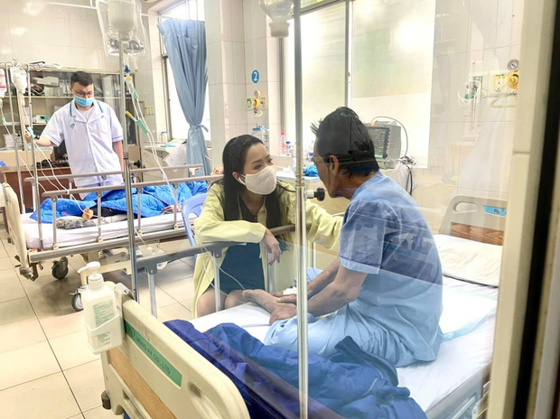 NS Trịnh Kim Chi công bố đã kêu gọi được hơn 270 triệu giúp đỡ NS Thương Tín, con gái vừa đến thăm bố ở bệnh viện - Ảnh 3.