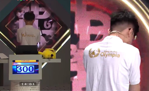 Về nhì tuần nhưng nam sinh khiến cả Quán quân và top 4 Olympia 2020 phải bàn tán vì biểu cảm người giống người này - Ảnh 4.