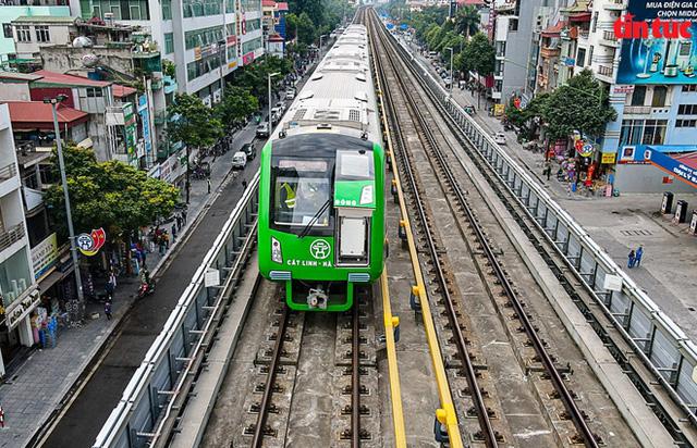 Bộ GTVT thông tin về thời gian bàn giao dự án đường sắt Cát Linh - Hà Đông - Ảnh 1.
