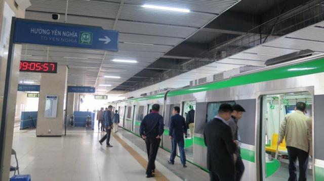 Bộ GTVT thông tin về thời gian bàn giao dự án đường sắt Cát Linh - Hà Đông - Ảnh 2.