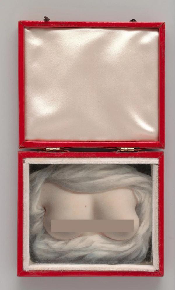 Tự vẽ ngực trần tặng người thương, nữ họa sĩ ôm mối tình nhìn chàng nên duyên với người khác - Ảnh 2.