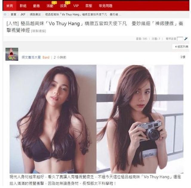 Nữ sinh Sài thành sở hữu body gợi cảm, thần thái cuốn hút được báo Trung khen xinh như hoa - ảnh 1