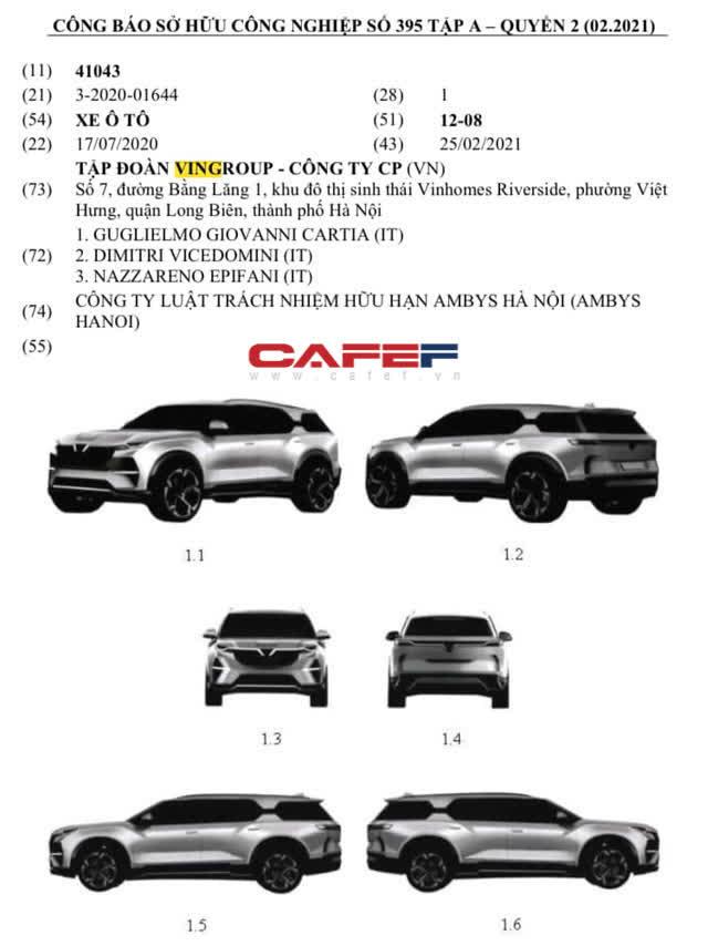 Hé lộ thiết kế ô tô mới của Vinfast: SUV cỡ đại có 2 bản điện và xăng, hệ thống trợ lái thông minh, chạy quãng đường 500 km/lần sạc?  - Ảnh 1.