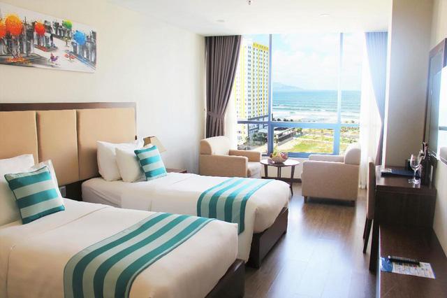 """Loạt khách sạn 4 sao Đà Nẵng giá rẻ """"giật mình"""": Chưa tới 500.000 đồng/đêm, vị trí ngay trung tâm, có cả hồ bơi, ăn sáng miễn phí  - Ảnh 10."""