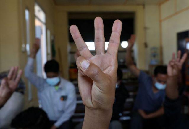 Cảnh sát Ấn Độ: 400 người Myanmar vượt biên hậu đảo chính - Ảnh 2.