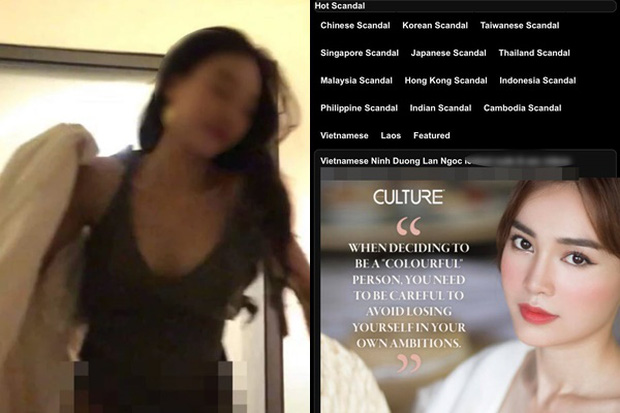 'Thánh soi' tìm ra chi tiết chứng minh Ninh Dương Lan Ngọc không phải là cô gái trong clip phòng the gây sốc? - ảnh 1