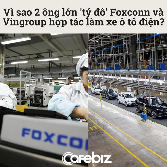 Thông tin bất ngờ về màn kết hợp bom tấn làm xe ô tô điện giữa 2 ông lớn Foxconn và Vingroup - Ảnh 1.