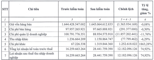 Sóng lớn tại một trong 12 đại dự án thua lỗ của ngành Công Thương: Lãi ròng sau kiểm toán tăng 74% và sự ra đi của Gelex  - Ảnh 1.