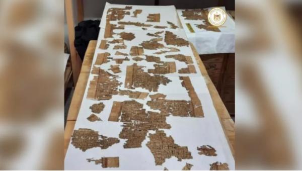 Khai quật hầm mộ cổ nghìn năm tuổi ở Ai Cập, tìm thấy Cuốn sách của người chết dài 4m - Ảnh 3.