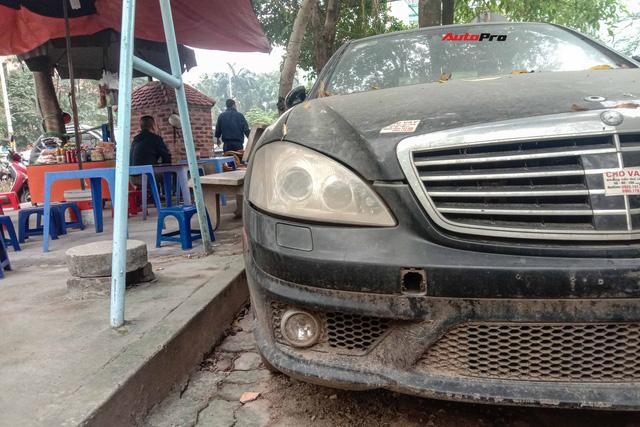 Nằm phủ bụi 5 năm tại Hà Nội, Mercedes-Benz S 63 AMG bạc tỷ khiến CĐM bàn tán khi một chi tiết vẫn nguyên vẹn - Ảnh 3.