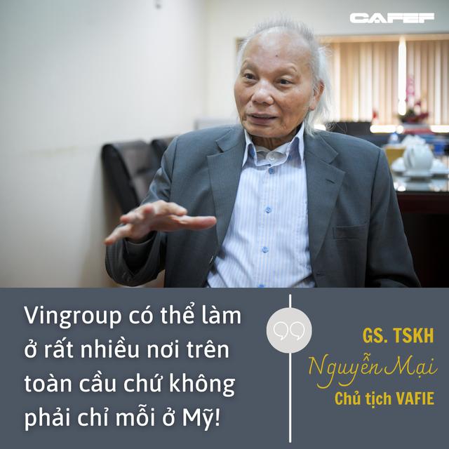 GS Nguyễn Mại chỉ ra cái lý của VinFast khi mở nhà máy xe điện ở Mỹ và chuyện hợp tác với Foxconn  - Ảnh 3.