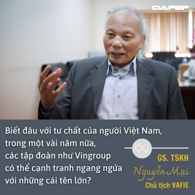 GS Nguyễn Mại chỉ ra cái lý của VinFast khi mở nhà máy xe điện ở Mỹ và chuyện hợp tác với Foxconn  - Ảnh 5.