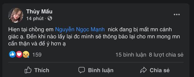 Người hùng Nguyễn Ngọc Mạnh bất ngờ bị mất nick Facebook - Ảnh 1.