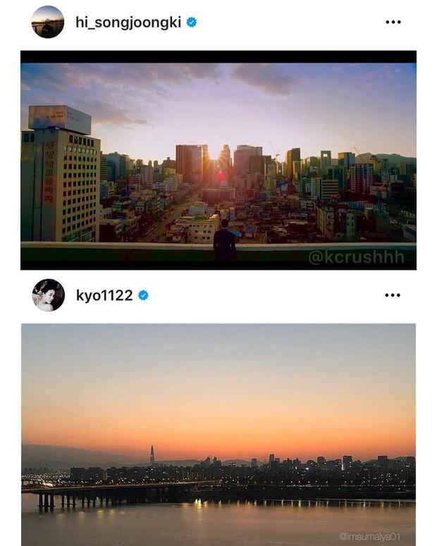 Song Joong Ki - Song Hye Kyo cùng đăng ảnh giống nhau đến bất ngờ, quay lại sau 2 năm ly hôn hay gì? - Ảnh 1.