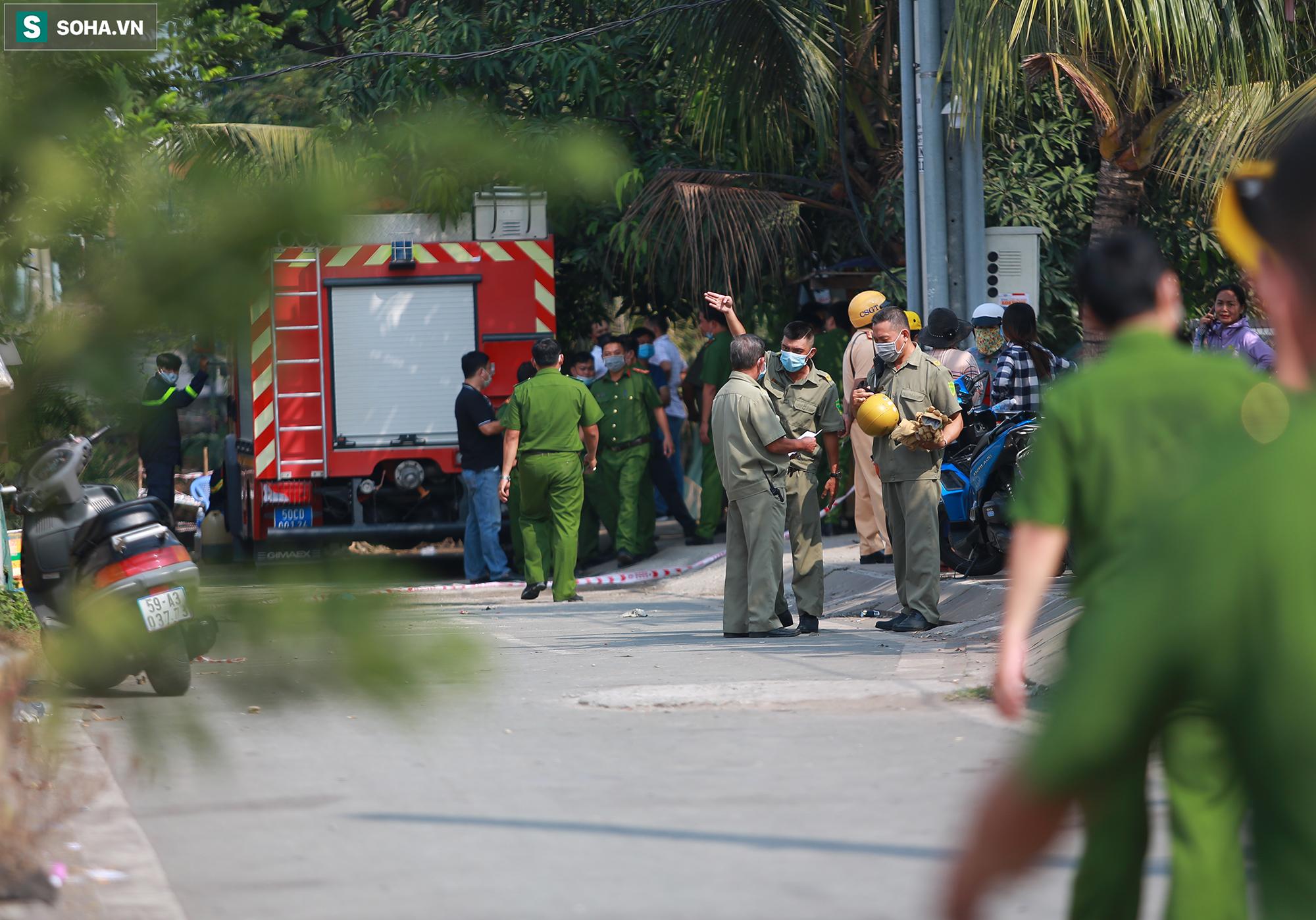 Xót xa hình ảnh còn lại sau đám cháy khiến 6 người trong một gia đình tử vong ở TP.Thủ Đức - Ảnh 1.