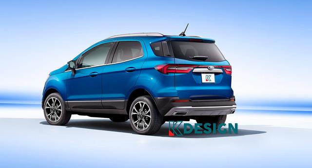 Xem trước Ford EcoSport đời mới: Đẹp lên trông thấy để lấy lại vị thế trước Kia Seltos - Ảnh 1.