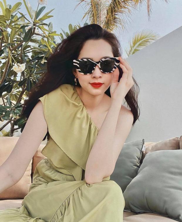 Chỉ có thể là hoa hậu Đặng Thu Thảo: Lâu lâu đăng ảnh 'sống ảo' liền gây sốt, tăng cân lại càng được khen mới hay - ảnh 3