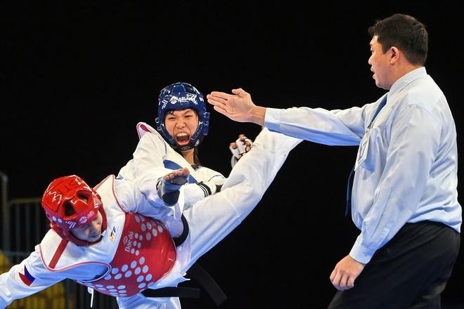 Cô gái Việt khiến võ sĩ Thái Lan ôm hận & lần gây sốc ở giải Vô địch Thế giới - Ảnh 7.