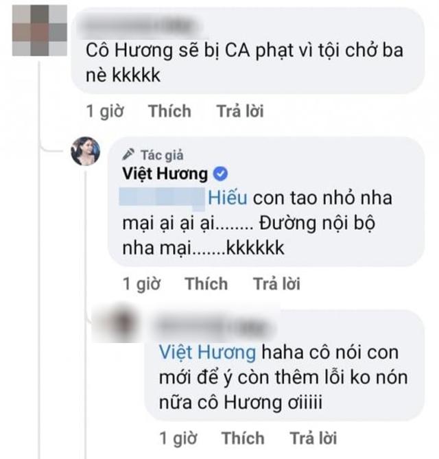 Hình ảnh danh hài Việt Hương đi du lịch cùng chồng con gây tranh cãi - Ảnh 4.