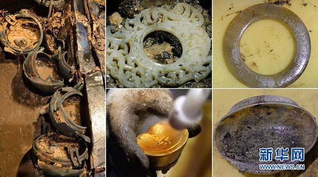 Lăng mộ may mắn nhất Trung Quốc: Mộ tặc đào 15m thì bỏ cuộc, ngờ đâu 10 tấn kho báu chỉ còn cách 5cm - Ảnh 5.