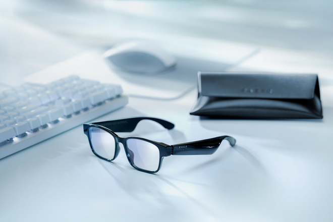 Razer ra mắt kính thời trang: Có thể chặn 35% ánh sáng xanh và 99% tia UV, tích hợp loa bên trong, không có đèn RGB, giá 200 USD - Ảnh 1.
