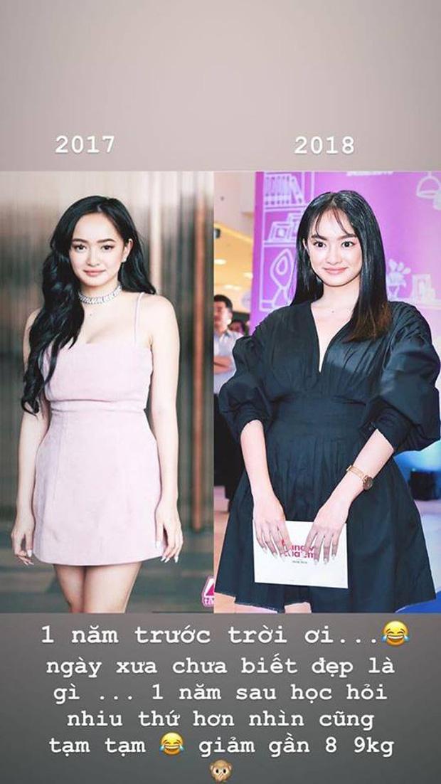 Hành trình nhan sắc của Kaity Nguyễn: Từ hotgirl ngực khủng đến ngọc nữ, lột xác ngoạn mục nhờ hút mỡ vòng 1 và giảm 9kg - Ảnh 11.
