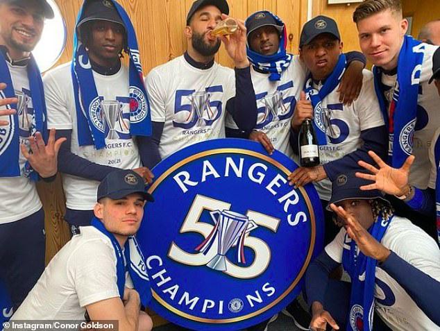 Steven Gerrard đưa Rangers lên ngôi vô địch Scotland - Ảnh 2.