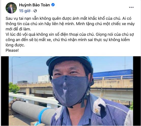 [Nóng] Gặp chủ ô tô Mercedes tặng tiền, tặng xe máy cho người đi ẩu tạt đầu xe mình ở TP.HCM - Ảnh 1.