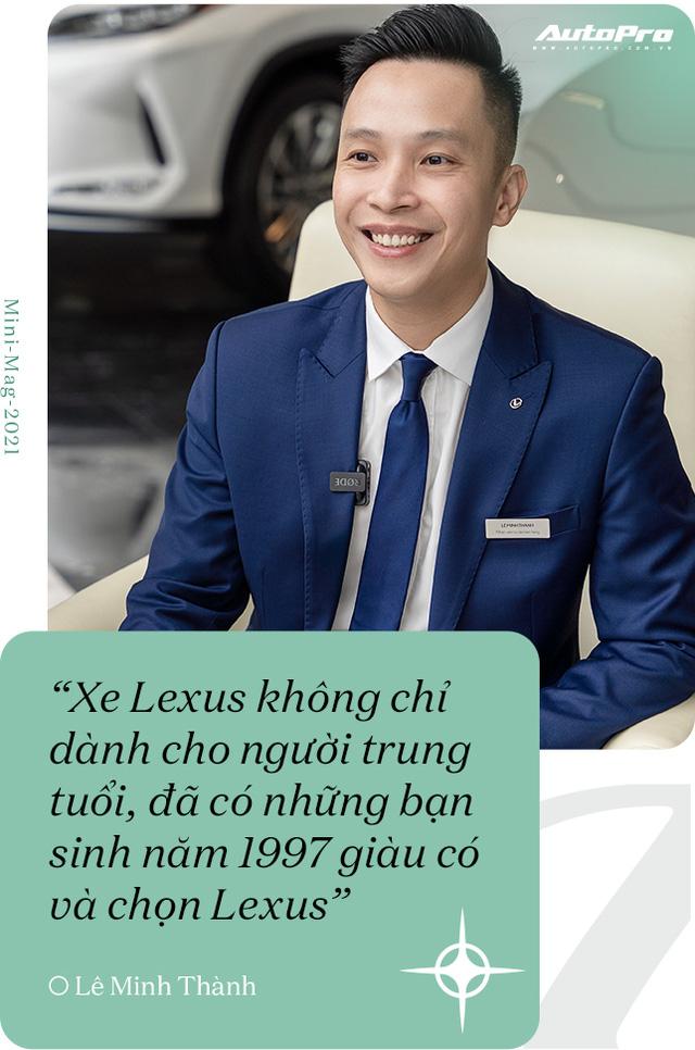Gặp salesman bán nhiều Lexus nhất Việt Nam, được khách nữ đón bằng LX 570, tiếp như nguyên thủ - Ảnh 15.