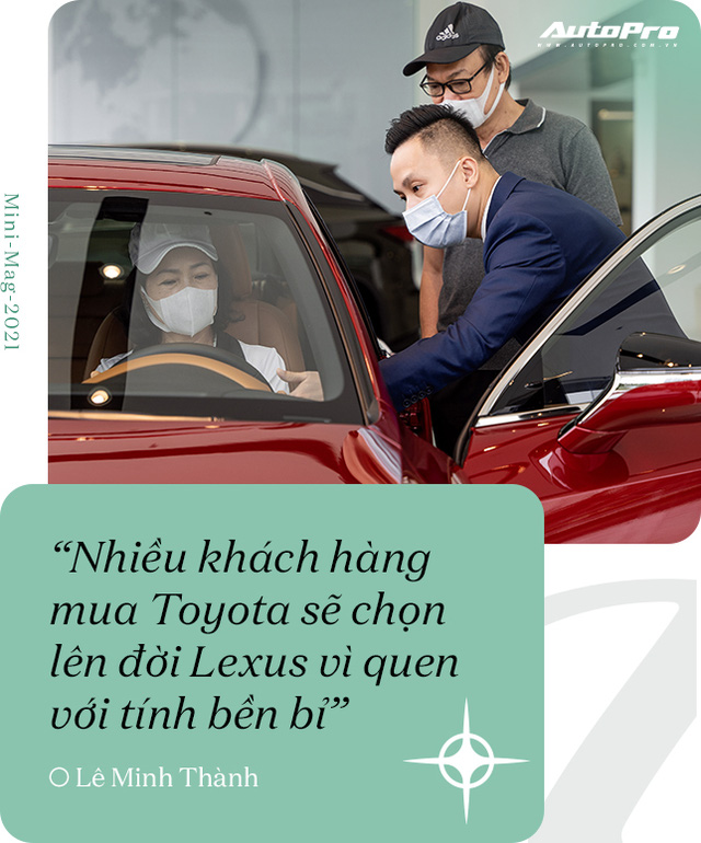Gặp salesman bán nhiều Lexus nhất Việt Nam, được khách nữ đón bằng LX 570, tiếp như nguyên thủ - Ảnh 3.